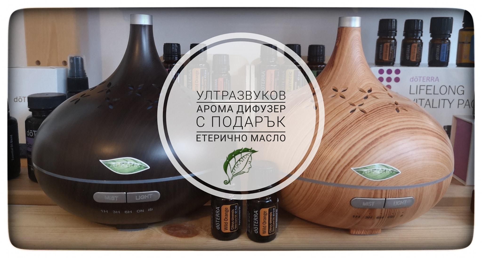 Ултразвуков Дифузер 3в1
