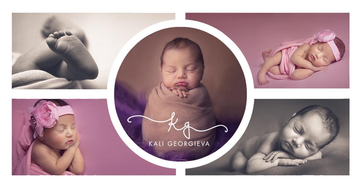 Фотосесия на новородено бебе