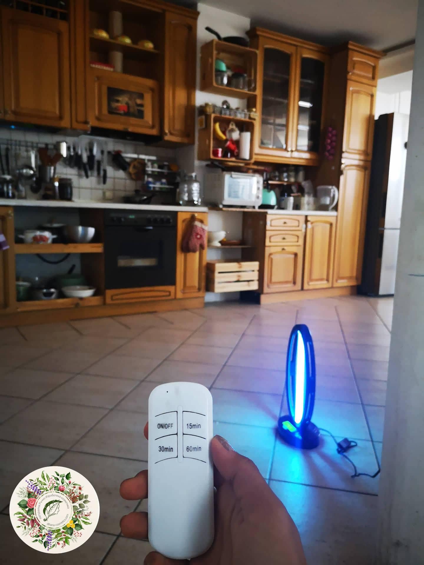 Бактерицидна UV лампа с озон